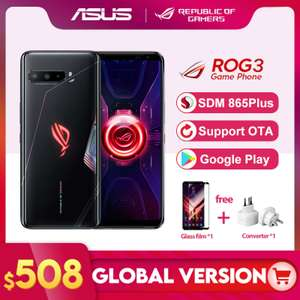 Smartphone Rog Phone 3 Global Version | R$2.790