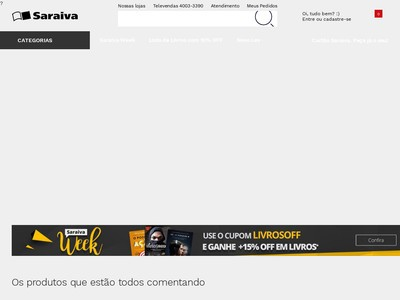 Saraiva - 10% De Desconto Em Livros