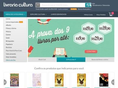 Livraria Cultura - 25% Off Em Livros Selecionados