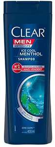 [Prime] Shampoo Anticaspa Clear Men Ice Cool Menthol 400ml | R$16