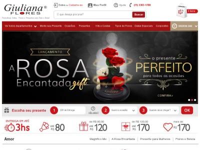Giuliana Flores - R$30 Off Em Produtos Selecionados