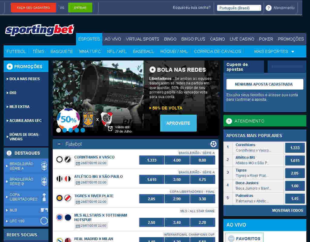 Site De Apostas - Sportingbet