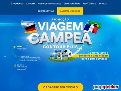 Promoção Viagem Campeã Contour Plus