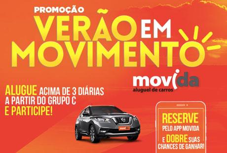 Promoção Movida Verão Em Movimento