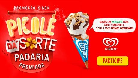 Promoção Kibon Picolé Da Sorte