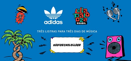 Promoção Adidas Todos Pro Lollapalooza Brasil