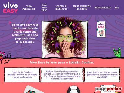 Promoção Vivo Easy No Lollapalooza Brasil