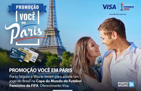 Promoção Você Em Paris Com Porto Seguro Visa