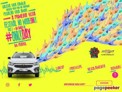 Promoção Onix Day No Lollapalooza