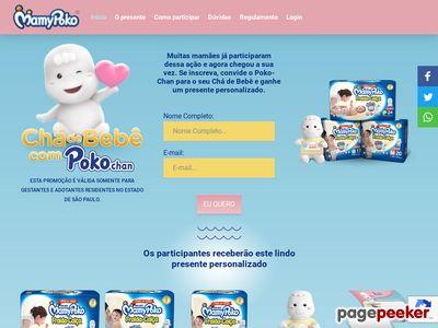 Promoção Chá De Bebê Com Poko-chan