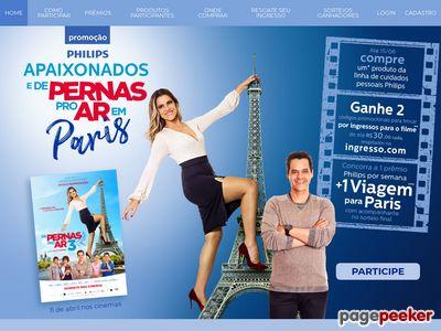 Promoção Philips Apaixonados E De Pernas Para O Ar Em Paris