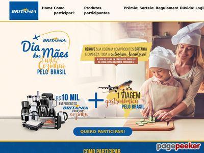 Promoção Britania A Arte De Cozinhar Pelo Brasil