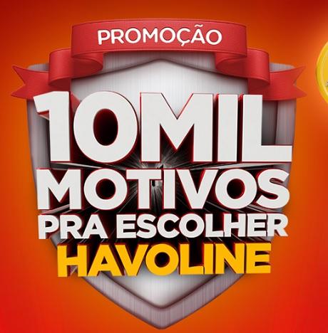 Promoção 10 Mil Motivos Para Escolher Havoline