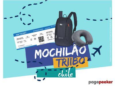 Promoção Mochilão Triibo Chile