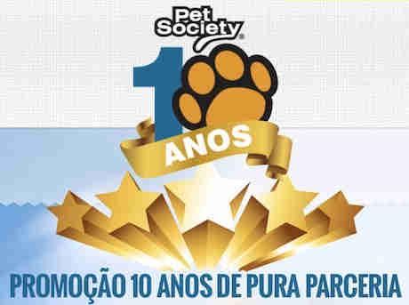 Promoção Pet Society 10 Anos