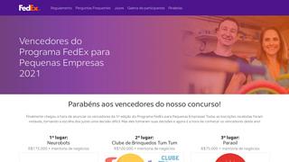 Promoção Programa Fedex Para Pequenas Empresas