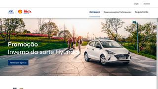 Promoção Inverno Da Sorte Hyundai