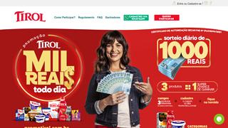 Promoção Tirol Mil Reais Todo Dia