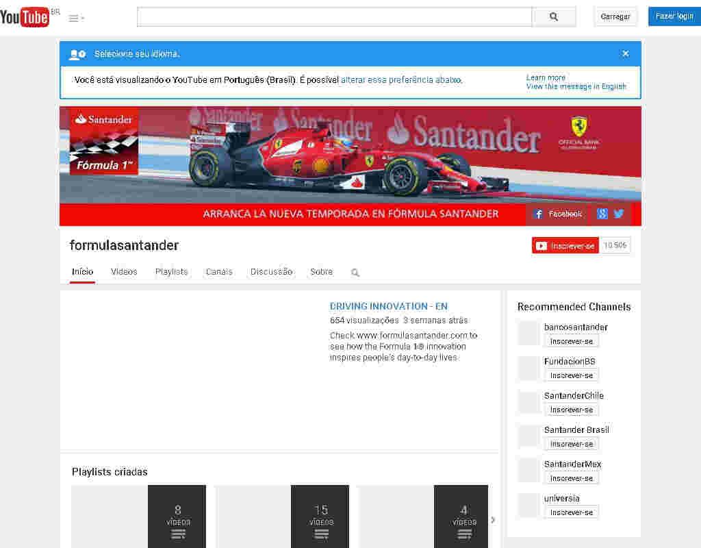 Viagem Formula 1 + 10 Premios Quinzenais - Video