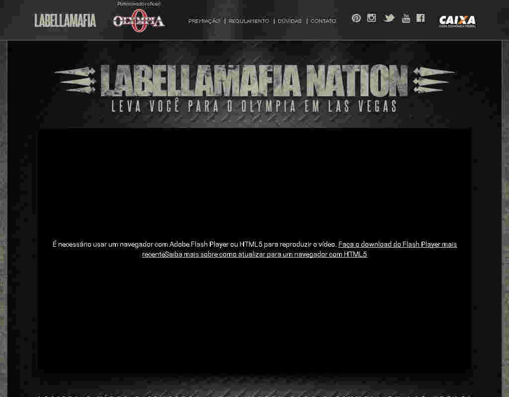 Promoção Labellamafia Nation Leva Você Para O Olympia Em Las Vegas