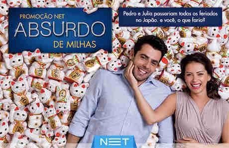 Promoção Net Absurdo De Milhas