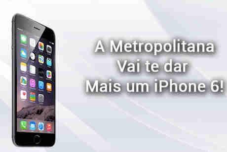 Promoção Rádio Metropolitana Fm Iphone 6 Whatsapp