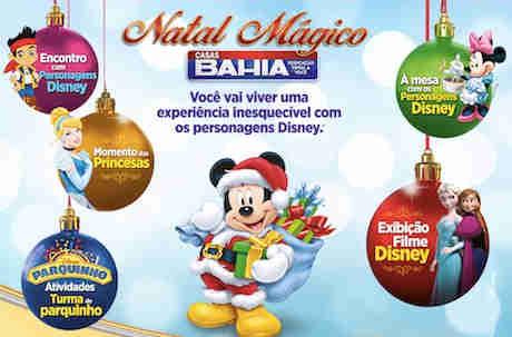 Promoção Natal Mágico Casas Bahia