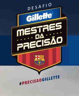 Promoção Gillette Mestres Da Precisão