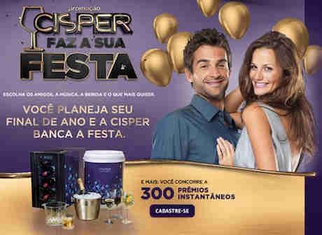 Promoção Cisper Faz A Sua Festa