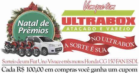 Promoção Natal De Prêmios No Ultrabox A Sorte É Sua