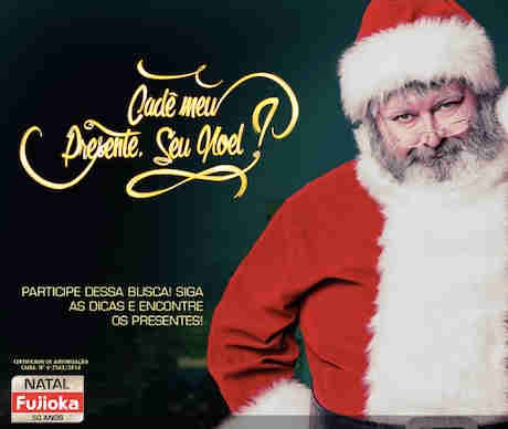 Promoção Cadê Meu Presente Seu Noel?
