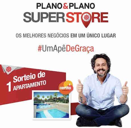 Promoção Plano&plano Superstore: