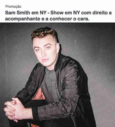 Promoção Mix Fm Qual O Nome Do Último Cd Do Sam Smith?