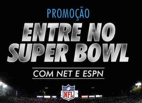 Promoção Net E Espn Entre No Super Bowl
