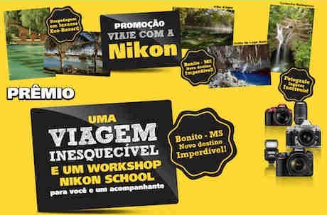 Promoção Viaje Com A Nikon