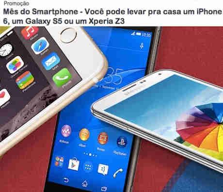 Promoção Mix Fm Mês Do Smartphone: