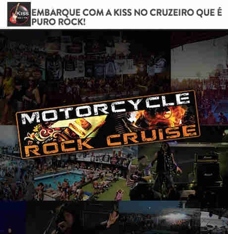 Promoção Kiss Fm Cruzeiro Puro Rock