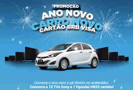 Promoção Ano Novo Carro Novo