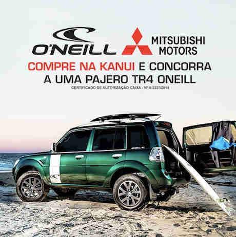 Promoção Compre Na Kanui E Concorra A Uma Pajero Tr4 Oneill