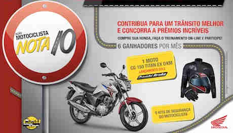 Promoção Honda Harmonia No Trânsito