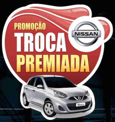 Promoção Troca Premiada Nissan