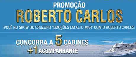Promoção Sorteio Roberto Carlos