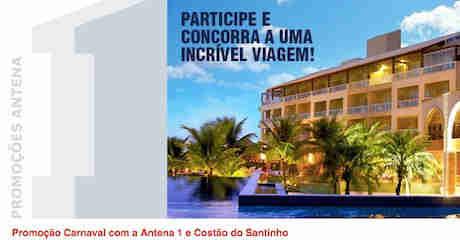 Promoção Carnaval Com A Antena 1 E Costão Do Santinho