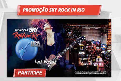 Promoção Sky Rock In Rio Las Vegas