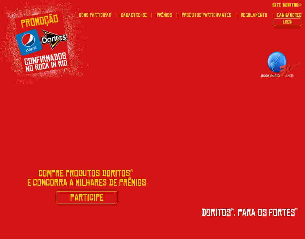 Promoção Era Uma Vez Doritos No Tomorrowland Brasil