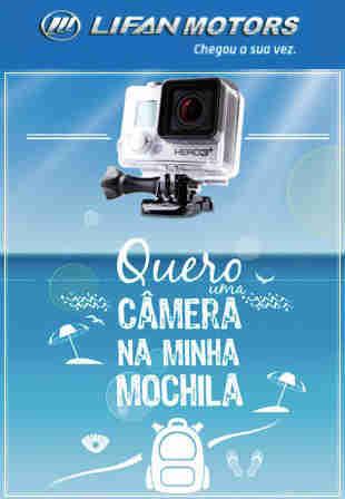 Promoção Lifan Quero Uma Câmera Na Minha Mochila