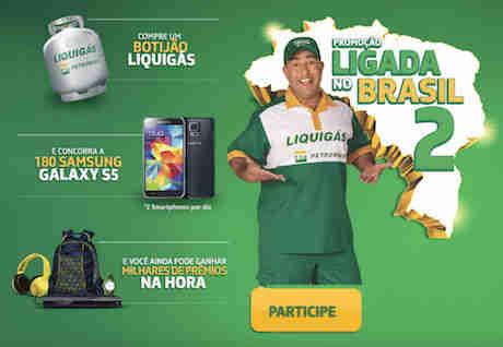 Promoção Liquigás Ligada No Brasil 2