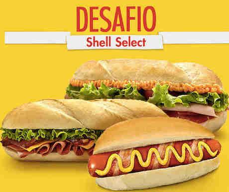 Promoção Desafio Shell Select
