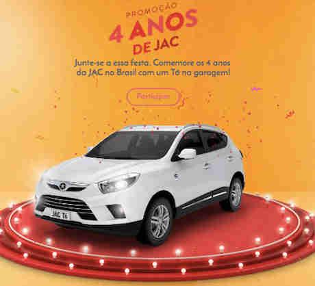 Promoção 4 Anos Jac Motors