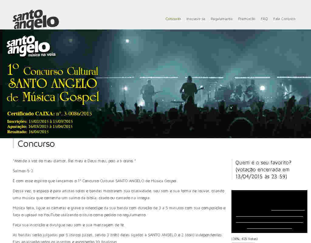 Concurso Cultural Santo Angelo De Música Gospel